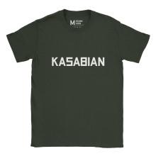 Kasabian Logo Forest Green