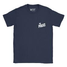 The Police Pocket Logo Navy
