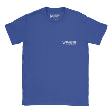 Weezer Pocket Type Royal Blue