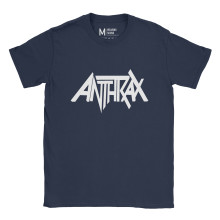 Anthrax Logo Navy
