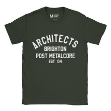 Architects Metalcore Forest Green