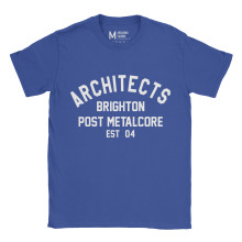 Architects Metalcore Royal Blue