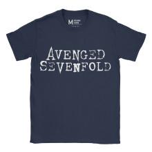 Avenged Sevenfold Logo Navy