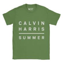 Calvin Harris Summer Irish Green