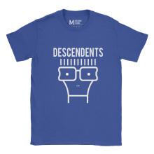 Descendents Face Royal Blue