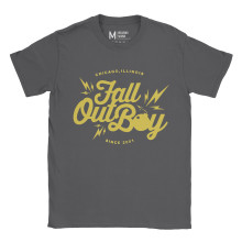 Fall Out Boy Bomb Charcoal