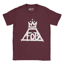 Fall Out Boy Crown Maroon