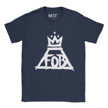 Fall Out Boy Crown Navy