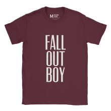 Fall Out Boy Typo Maroon