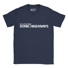 Foo Fighters Sonic Highways Navy