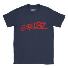 Gorillaz Logo Navy