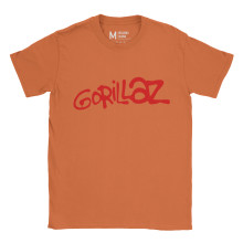 Gorillaz Logo Orange