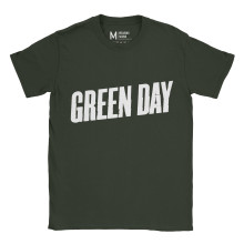 Greenday Logo Forest Green