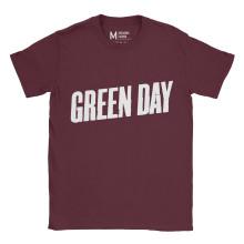 Greenday Logo Maroon