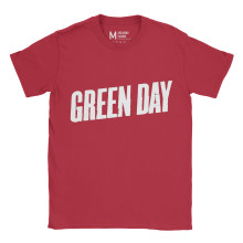 Greenday Logo Red