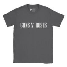 Guns n Roses Type Charcoal