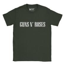 Guns n Roses Type Forest Green