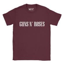 Guns n Roses Type Maroon