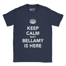 Muse Keep Calm Navy