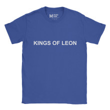Kings Of Leon Type Royal Blue