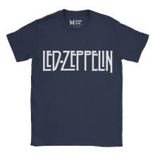 Led Zeppelin Logo Navy