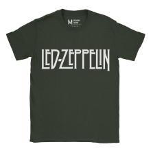 Led Zeppelin Logo Forest Green
