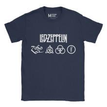 Led Zeppelin Symbol Navy