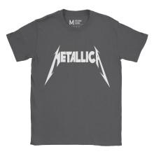 Metallica Logo Charcoal