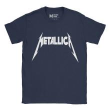 Metallica Logo Navy