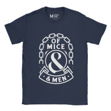 Of Mice And Men Breaking Chains Navy