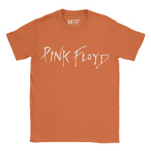 Pink Floyd Logo Orange