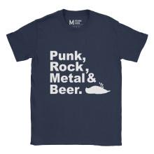 Atticus Metal Punk Rock Beer Navy