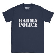 Radiohead Karma Police Navy