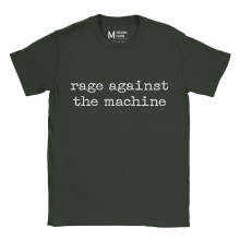 Rage Against The Machine Type Forest Green