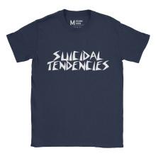 Suicidal Tendencise Logo Navy