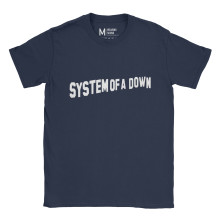 System Of A Down Logo Navy