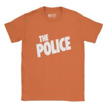 The Police Logo Orange