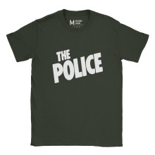 The Police Logo Forest Green