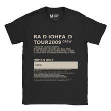 Radiohead 2009 Tour Crew