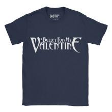 Bullet For My Valentine Logo Navy