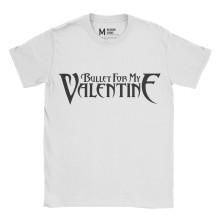 Bullet For My Valentine Logo White