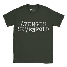 Avenged Sevenfold Logo Forest Green