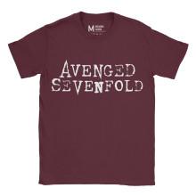 Avenged Sevenfold Logo Maroon