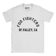 Foo Fighters SF Valley White