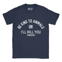 Morrissey Be Kind To Animals Navy