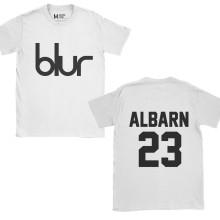 Blur Damon Albarn 23 White