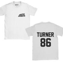 Arctic Monkeys Alex Turner 86 Pocket White