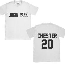 Linkin Park Chester 20 White