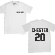 Linkin Park Chester 20 Pocket White