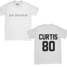 Joy Division Ian Curtis 80 White